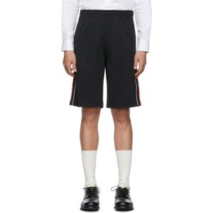 Gucci Black Jersey Shorts