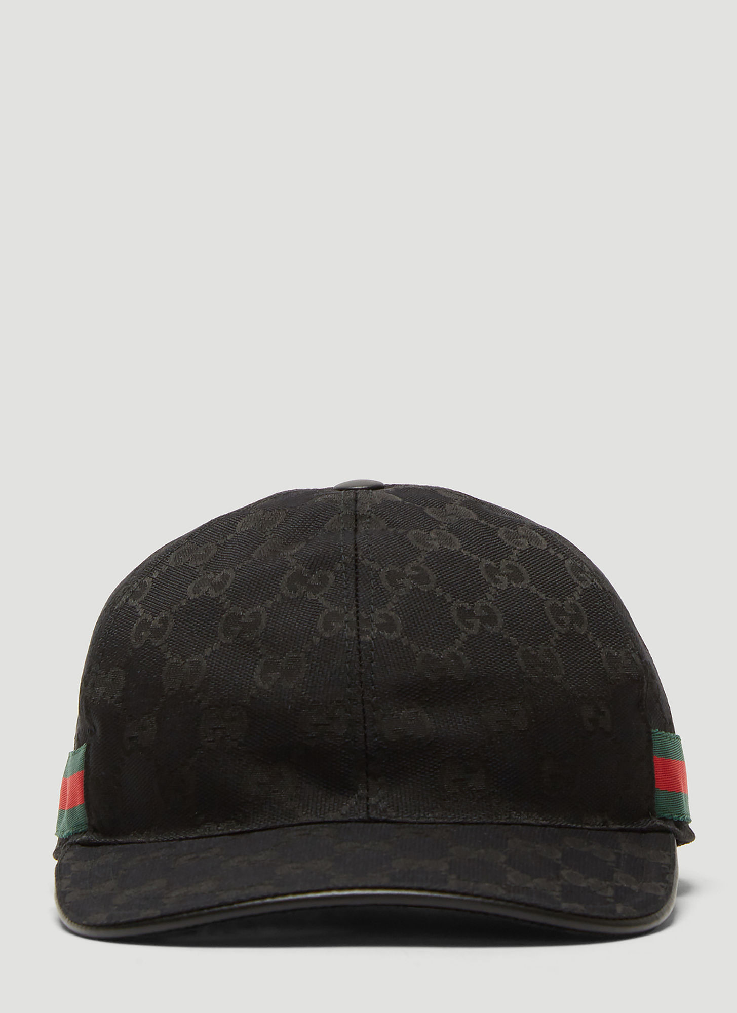 348e51c66 Gucci Original GG Canvas Web Baseball Cap in Black size M