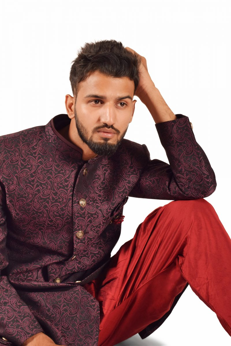 Indian Male Model Traditional Dress