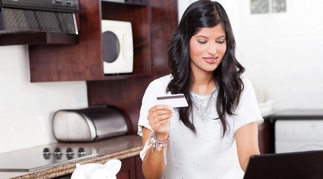 Indian Woman Shopping