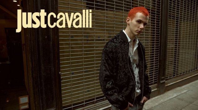 Jacopo Olmo fronts Just Cavalli's fall-winter 2019 campaign.