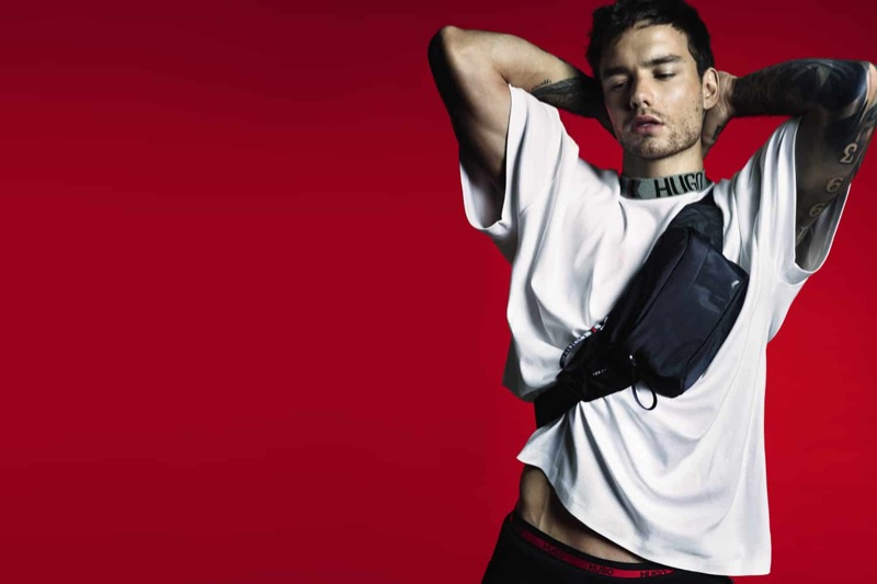 Mert & Marcus photographs Liam Payne for his new HUGO capsule collection.
