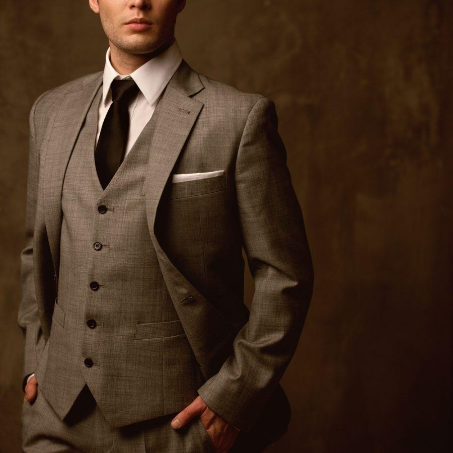 Male Model Mens Classic Suit