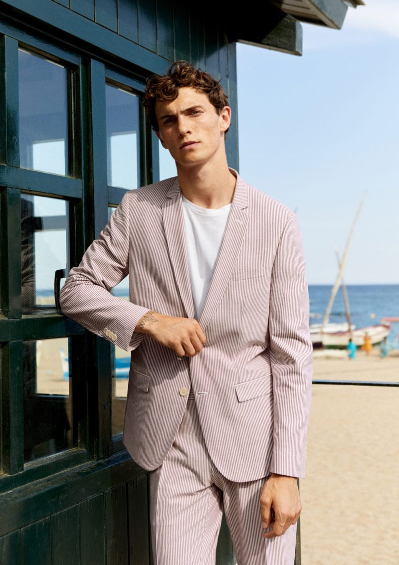 At the Beachfront: Luc Defont-Saviard for Mango