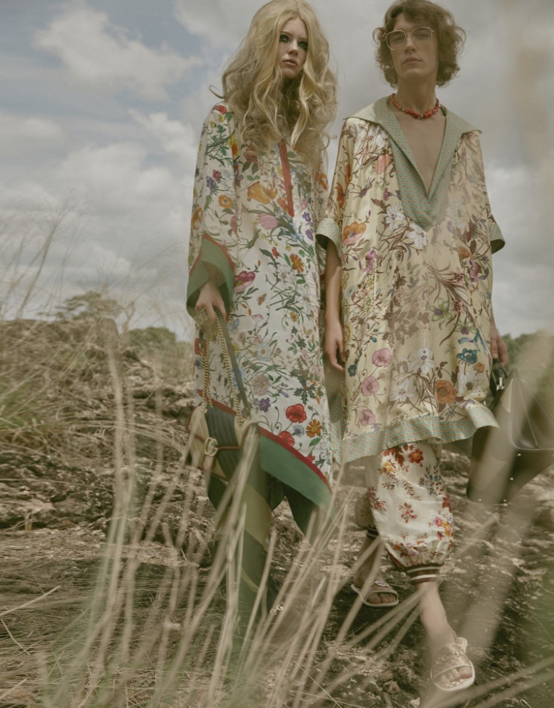 Mantas Daugvardas Rocks Gucci for Elle Thailand