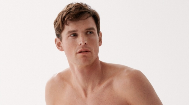 Guy Robinson stars in the Marc O'Polo Body & Beach campaign.