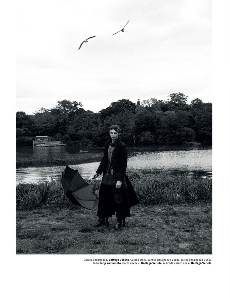 Lost in the Fields: Marcel Korusiewicz for GQ Portugal