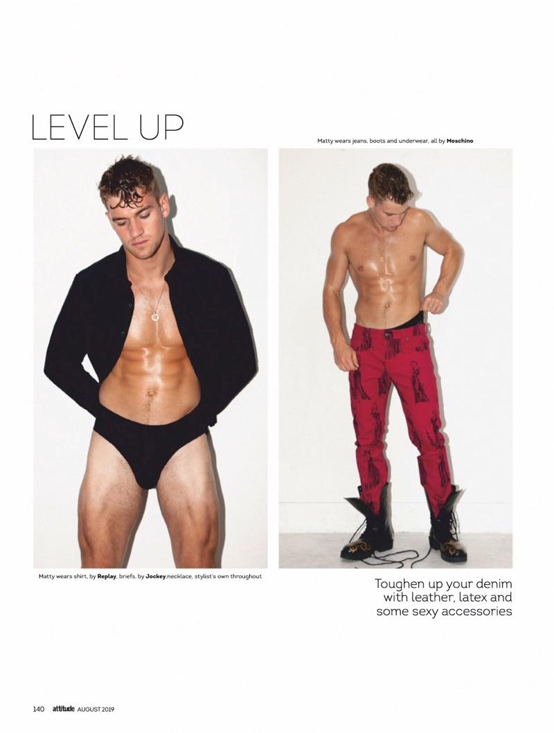 Level Up: Matty Carrington for Attitude