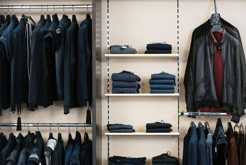 Mens Clothing Store Selection