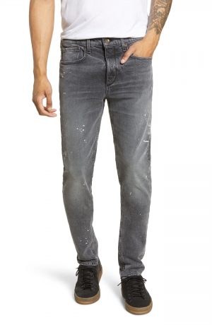 Men's Rag & Bone Fit 1 Skinny Fit Jeans, Size 32 - Grey