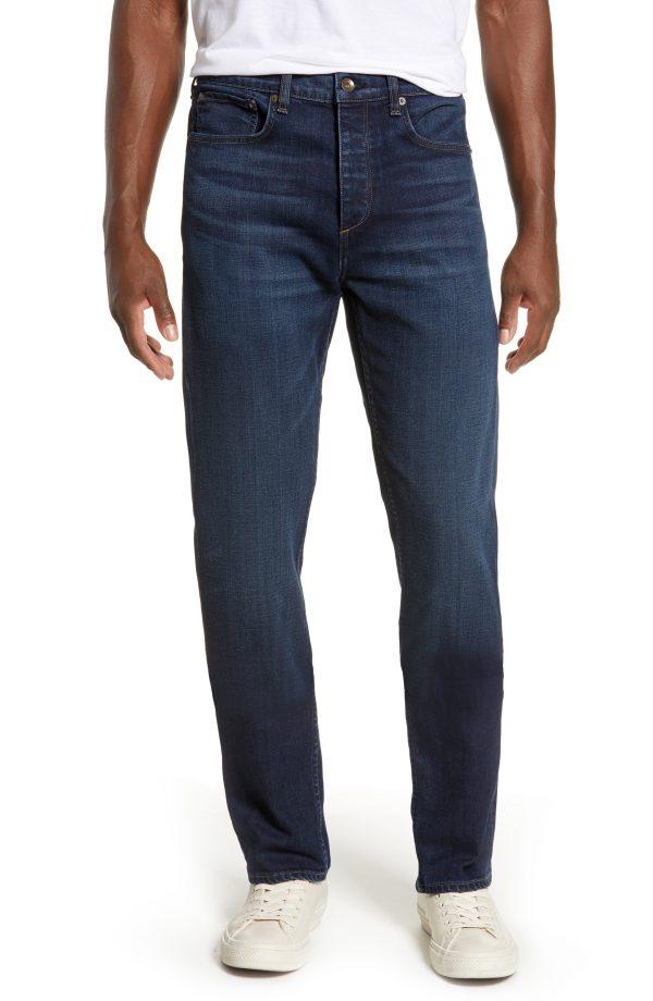 Men's Rag & Bone Fit 2 Slim Fit Jeans, Size 32 - Blue