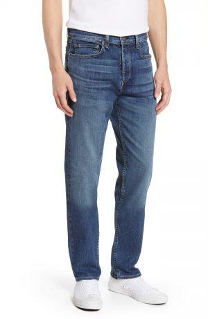 Men's Rag & Bone Fit 3 Slim Straight Leg Jeans, Size 33 - Blue
