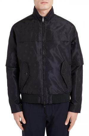 Men's Valentino V-Logo Jacket, Size 48 EU - Blue