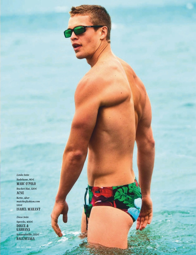 Miami Vibes: Mitchell Slaggert for GQ Germany