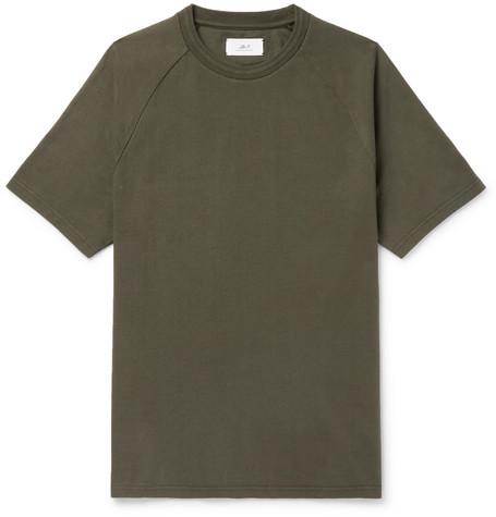 Mr P. - Cotton-Jersey T-Shirt - Men - Army green