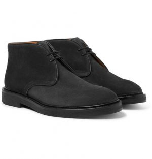 Mr P. - Lucien Suede Desert Boots - Men - Black