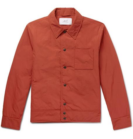 Mr P. - Padded Nylon Jacket - Men - Orange