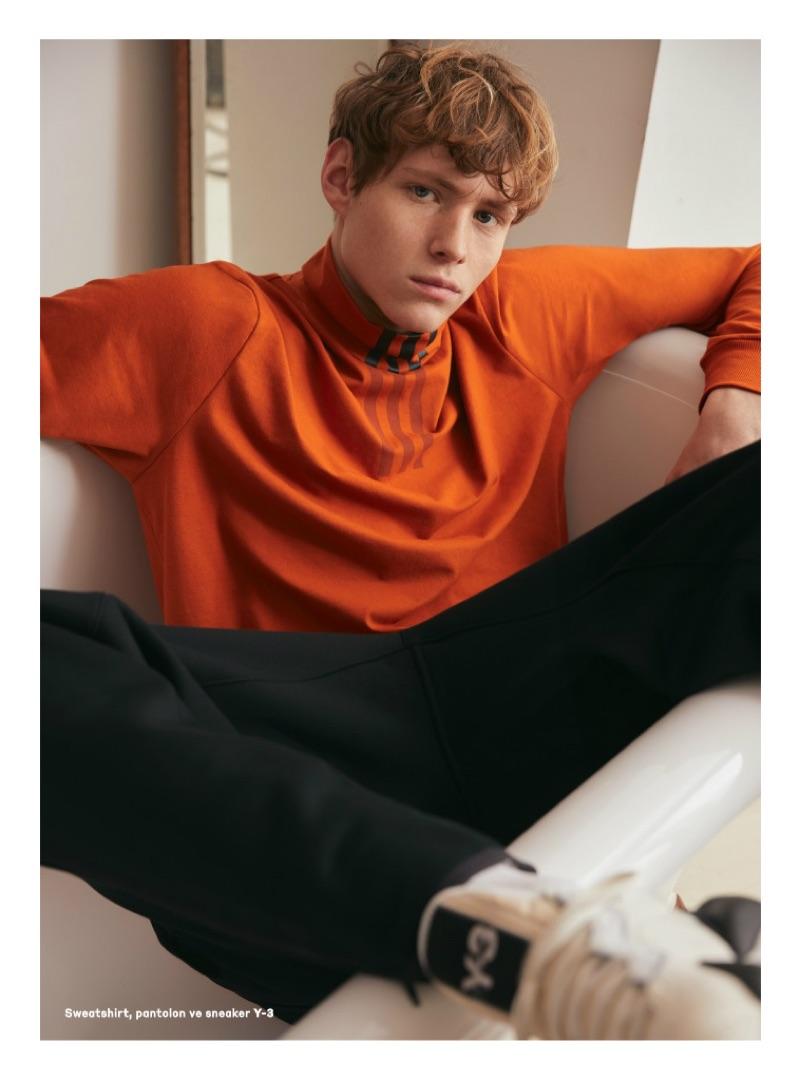 Noah Bunink Dons Casual Fashions for Beymen Magazine