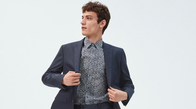 Serge Rigvava fronts Nordstrom's Anniversary Sale campaign.