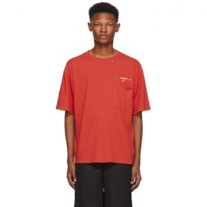 Off-White Red 80s Vintage T-Shirt