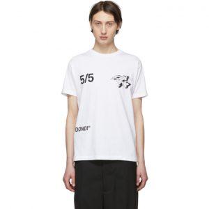 Off-White White Wars Skinny T-Shirt