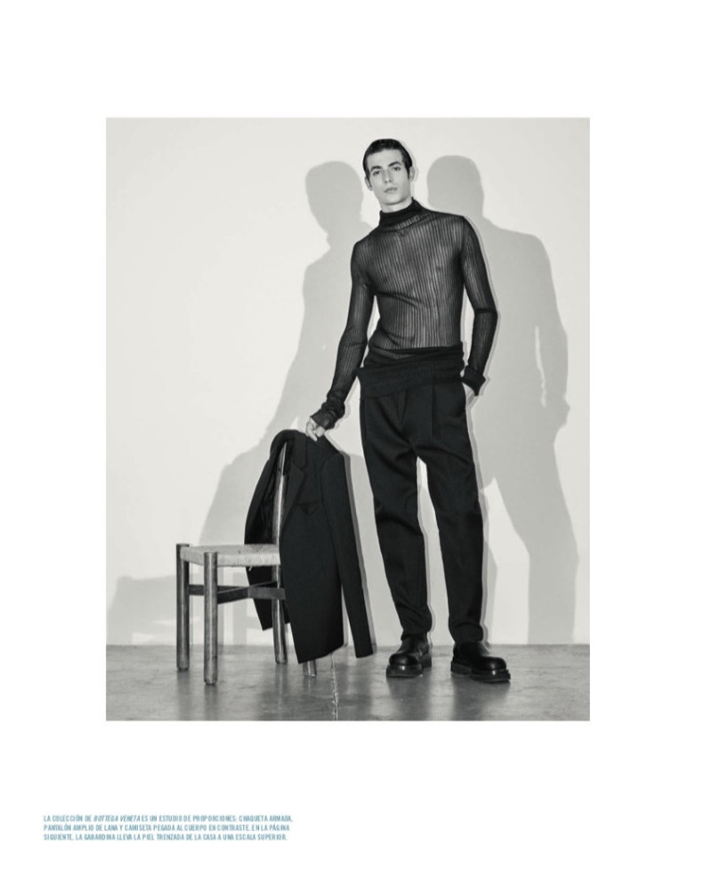 Oscar Kindelan Rocks Black & Leather for Icon