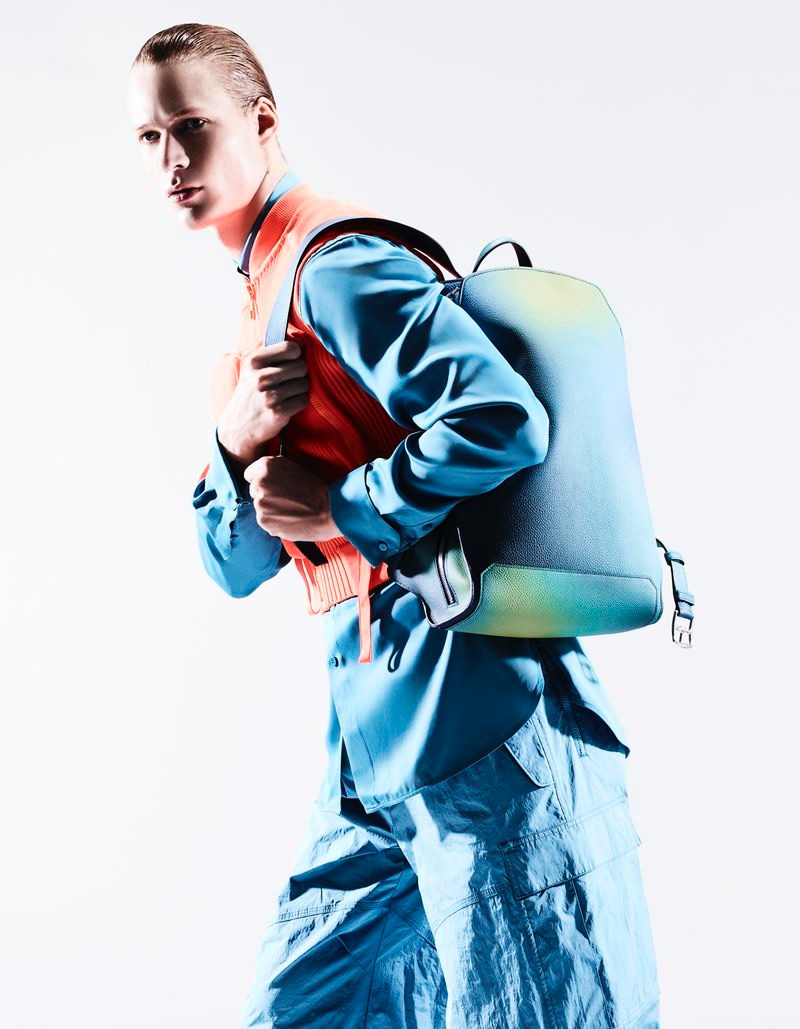 Sven de Vries Goes Futuristic in Sporty Style for Esquire Italia