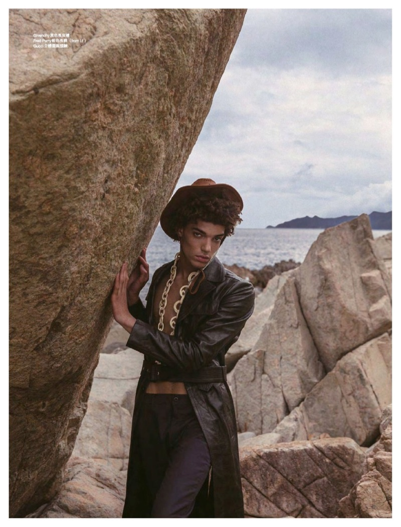 My Brokeback Island: Timothee Passy for Men's Uno Hong Kong