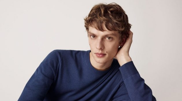 Leon Dame fronts the UNIQLO LifeWear fall-winter 2019 men's campaign.