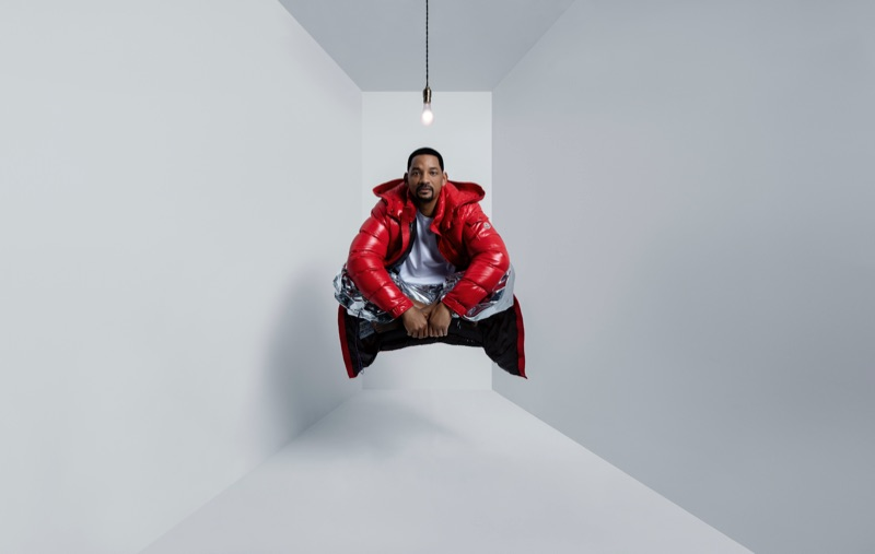 "Will Smith Stars in Moncler's ""Genius is Born Crazy"" campaign."