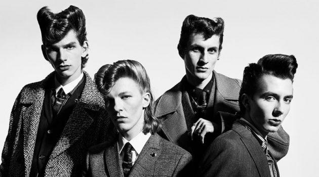 Erik van Gils, Paul Hameline + More Go Retro for Zara Fall '19 Campaign