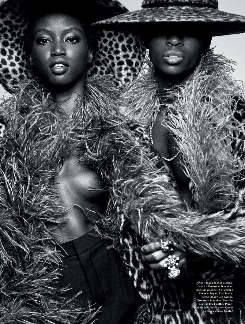 Alton Mason is a 'Free Spirit' for Vogue Brasil