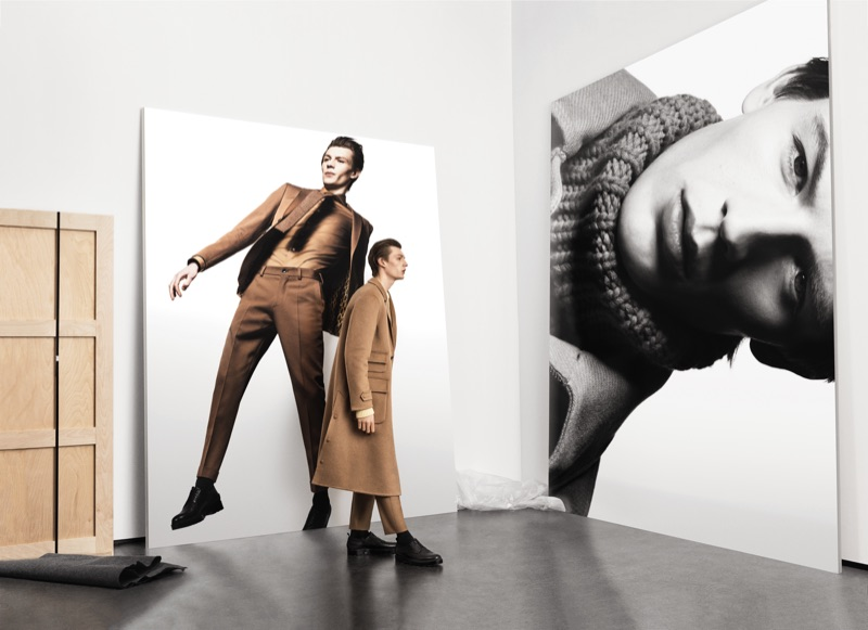 Finnlay & Alpha Take to an Art Gallery for BOSS Fall '19 Campaign