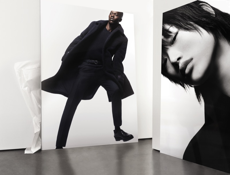 Striking images of Alpha Dia and Sora Choi contribute to BOSS' gorgeous new fall-winter 2019 campaign.