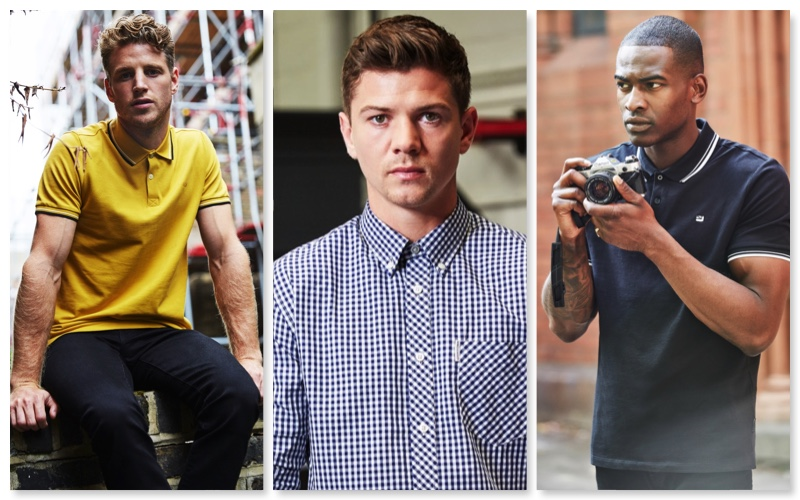 Ben Sherman features Roger Frampton, Luke Campbell, and Chris Reid in 'The Series AW19.'