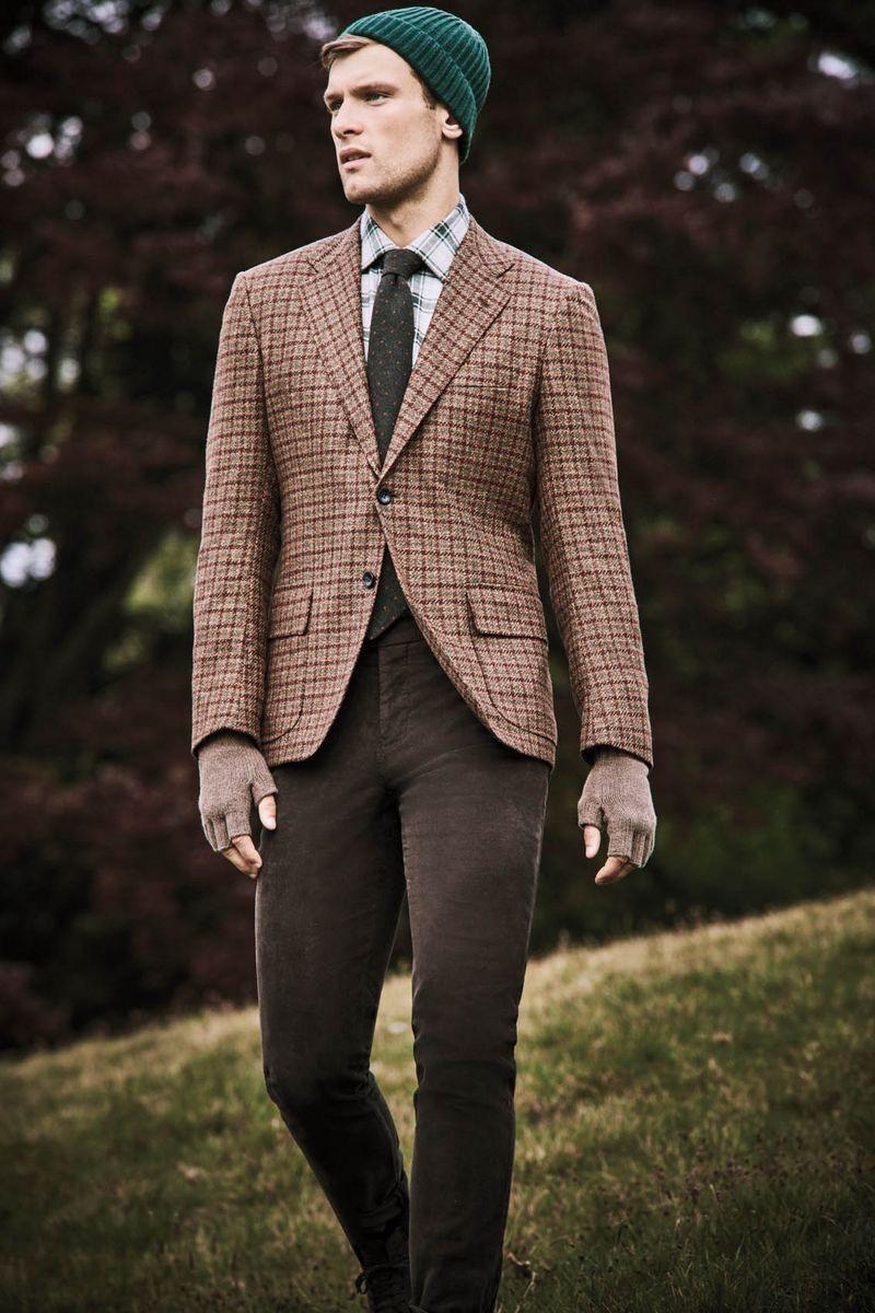 Elliott Reeder Dons Classic Menswear for Goodman's Guide