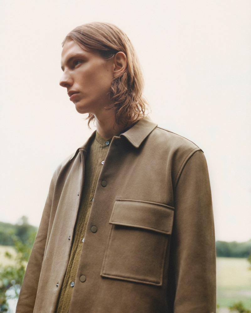 Casper Plantinga Takes to Outdoors in COS Menswear