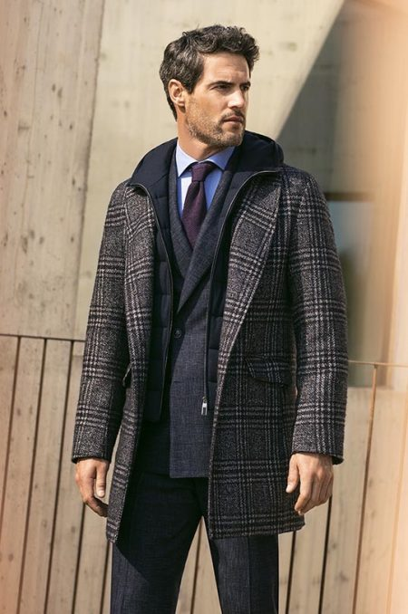 Giacomo & Ángelo Charm in Classic Menswear for Canali Fall '19 Campaign