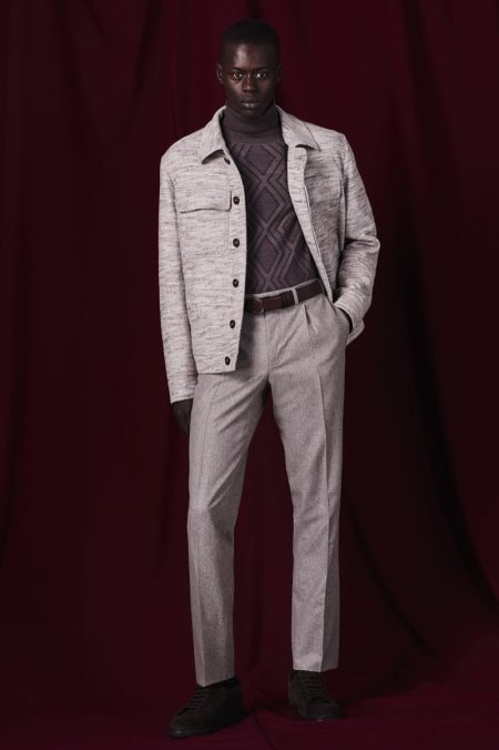 Past & Present Collide for Canali Fall '19 Collection