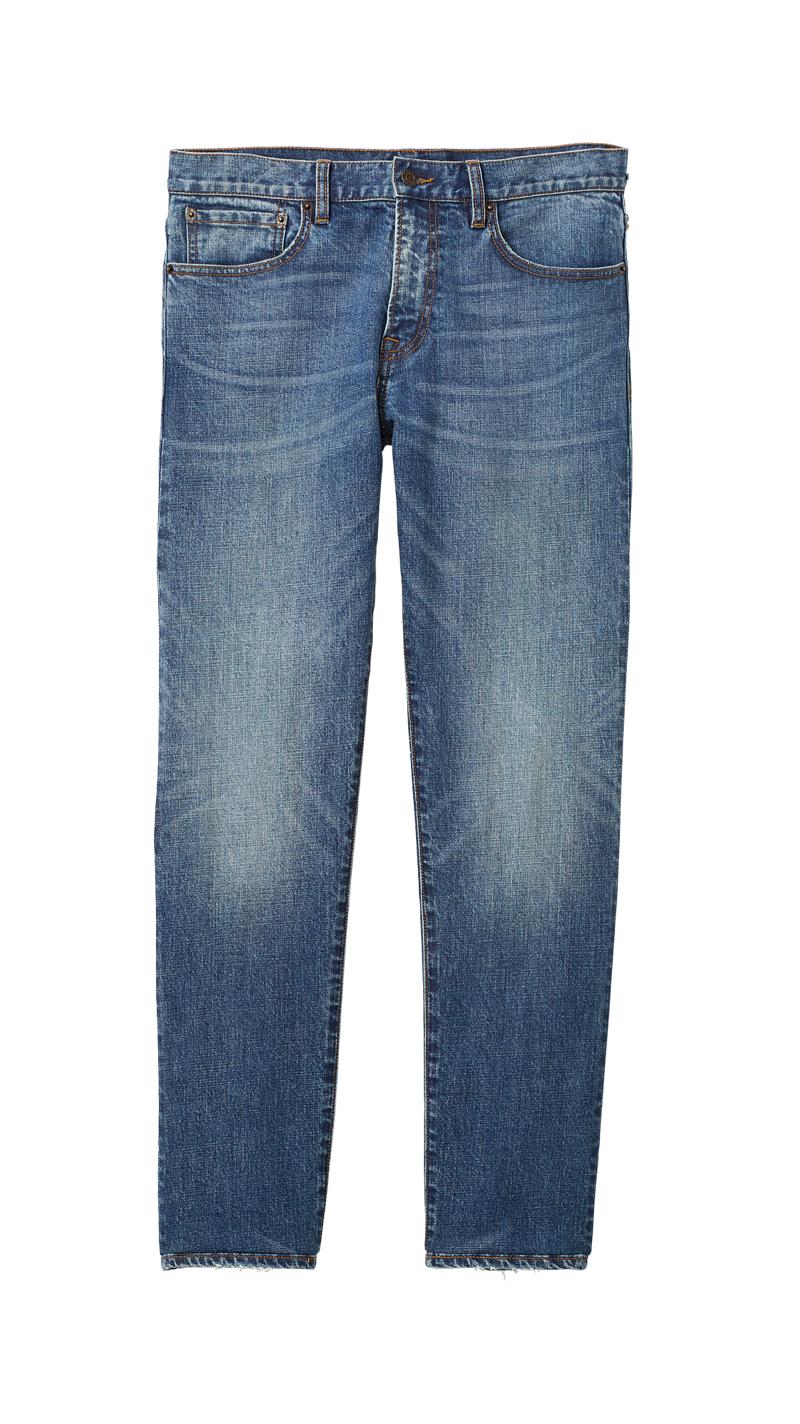 Club Monaco Super Slim Denim Jeans in Indigo Blue $129.50