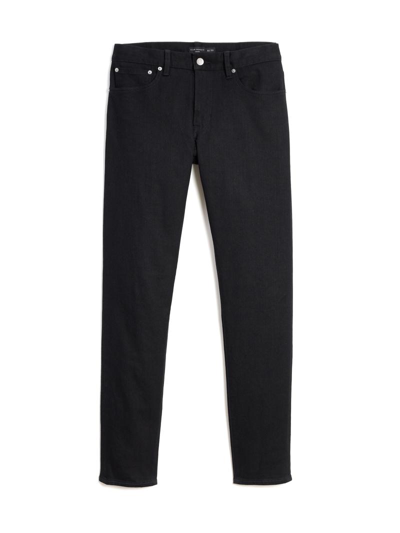 Club Monaco Slim Straight Denim Jeans in Black $129.50