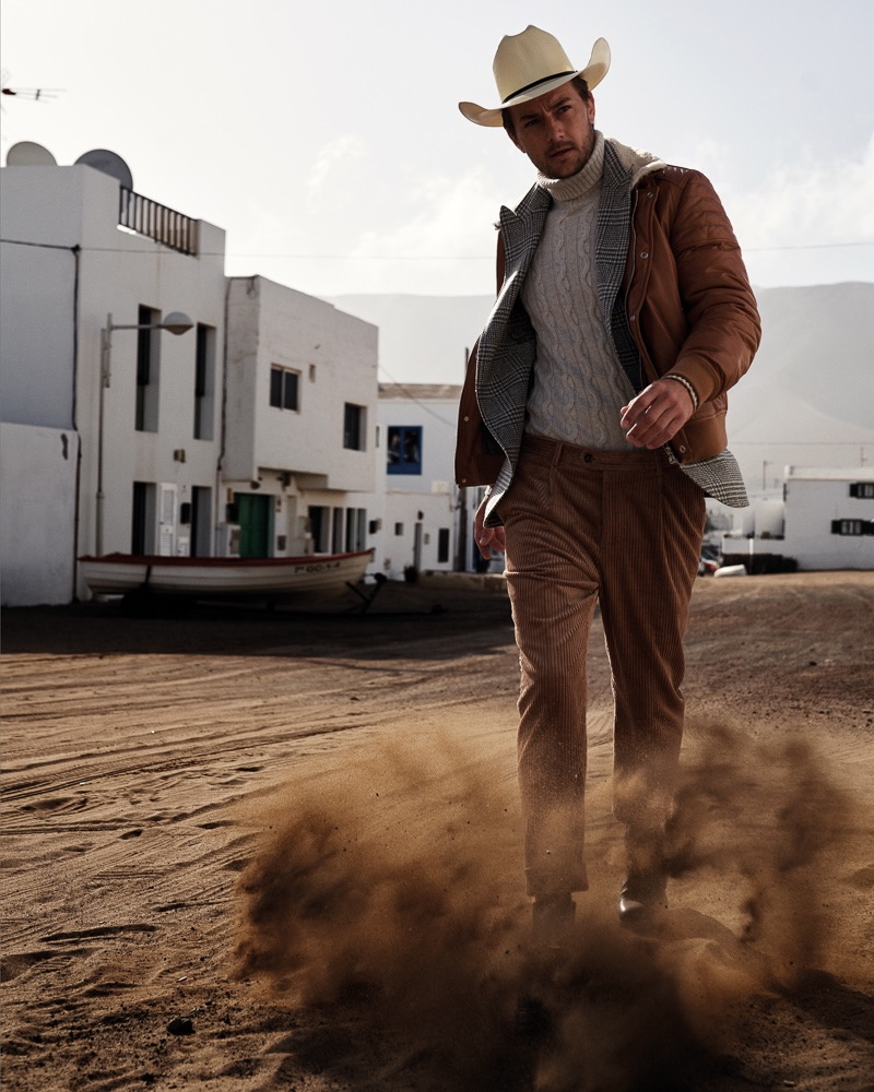 Craig Le Roux Rocks Western Fashions for DRY Magazine