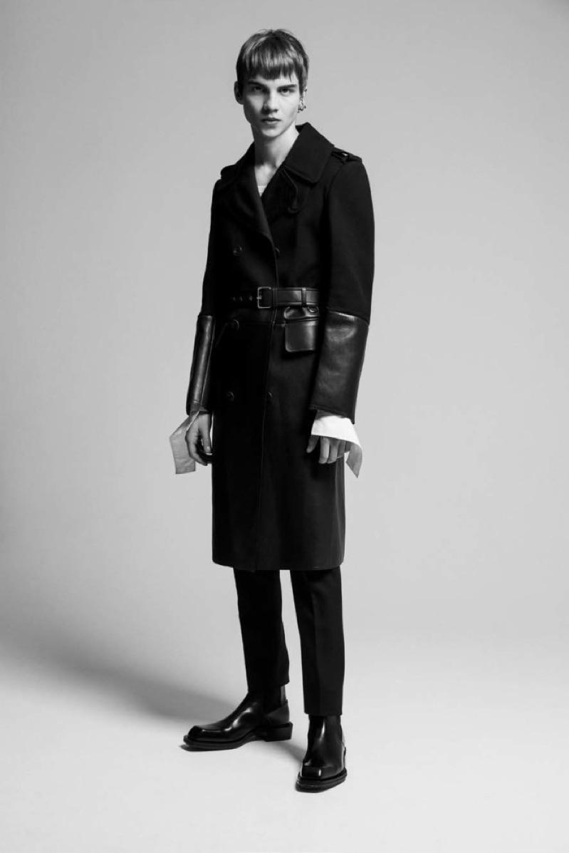 Ernest Klimko Dons Sleek Fashions for L'Officiel Hommes Poland