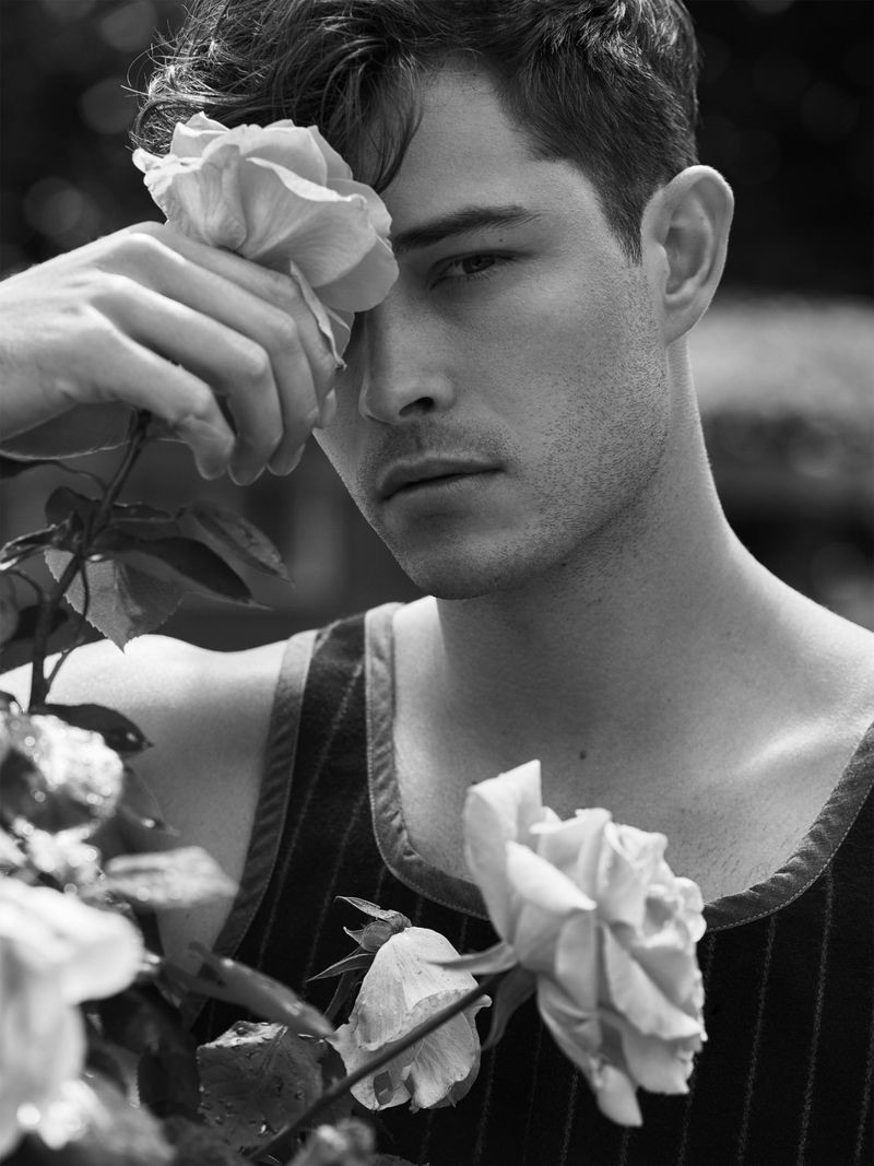 Francisco Lachowski Heads Outdoors with Tings Magazine