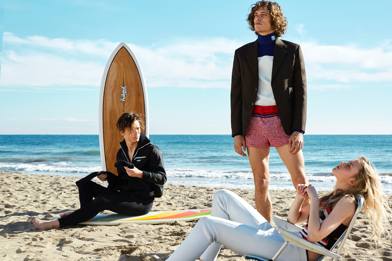 Umberto Villahermosa & Florian Kampen Are Beach Buddies for GQ China