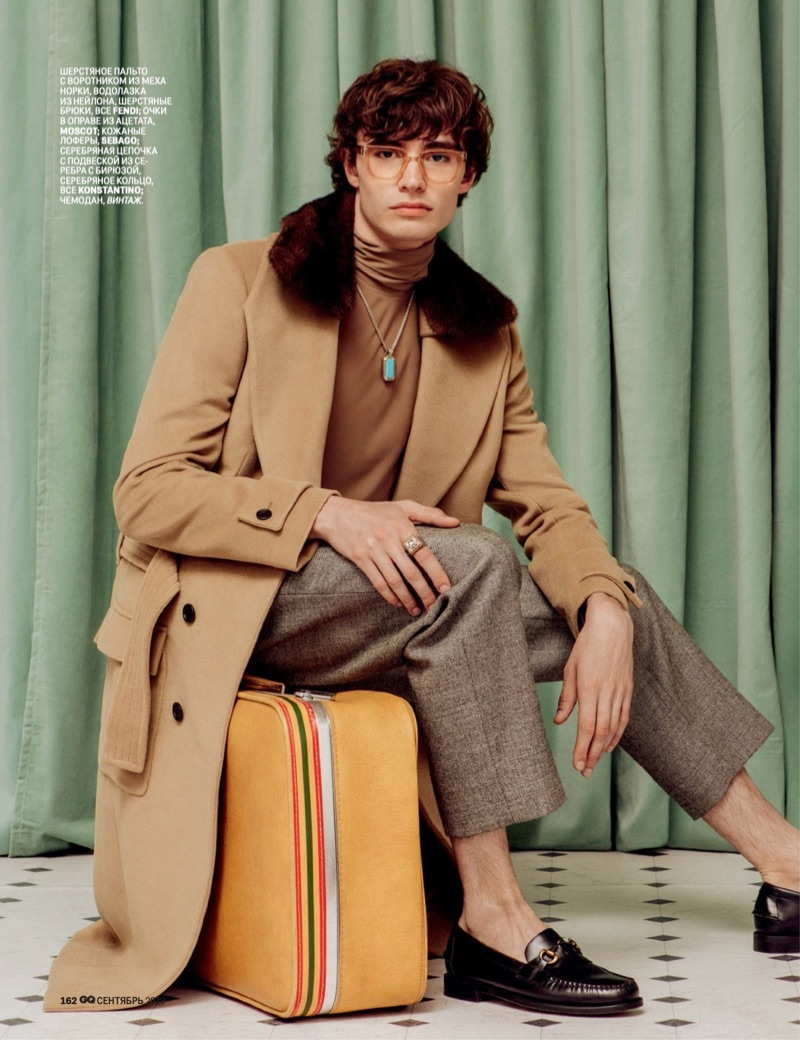 Louis Mayhew, Dmitry Brylev + More Go Quirky for GQ Russia