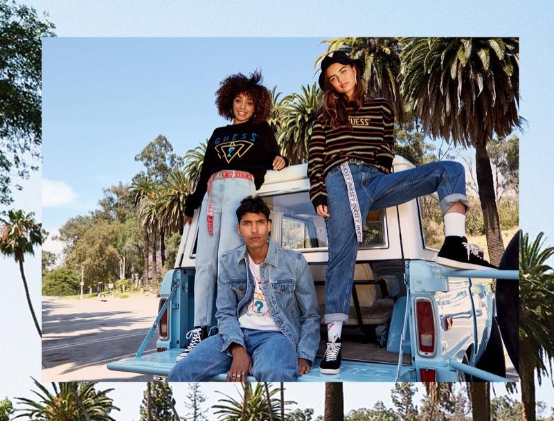 GUESS Originals unveils its fall 2019 campaign with model Alexis Ordonez.