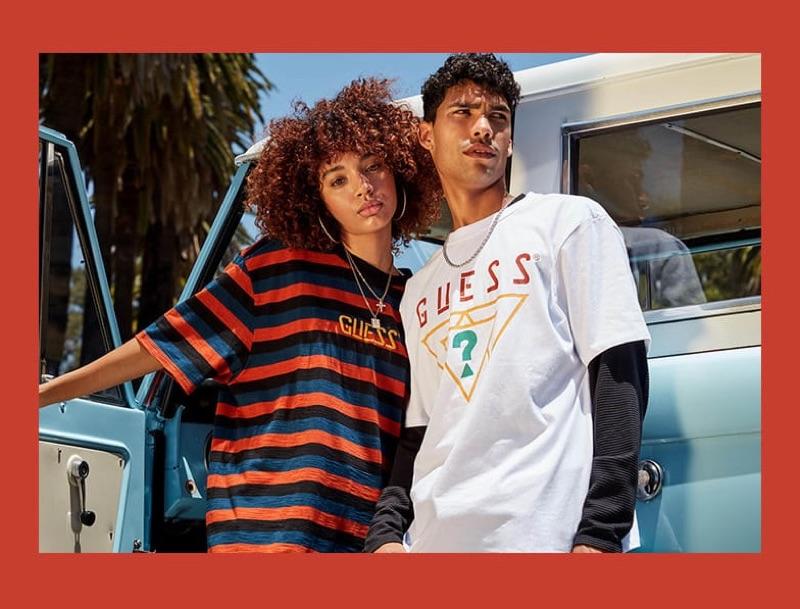 Alexis Ordonez stars in GUESS Originals' fall 2019 campaign.