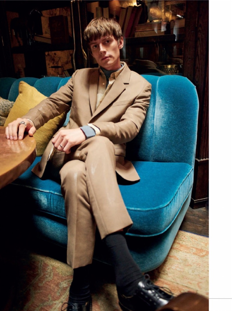 Janis Ancens is an Eternal Yuppie for Esquire España