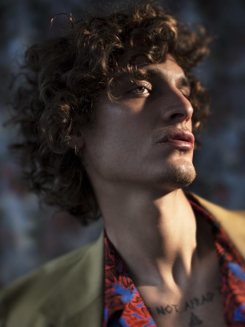 Jonathan Bellini is Elegant in Sharp Suits for GQ Brasil